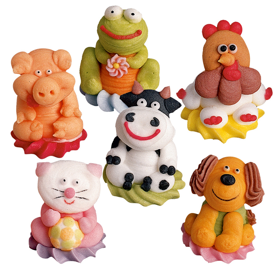 Assez 6 animaux de la ferme 3d pour l'anniversaire de votre enfant  HA66