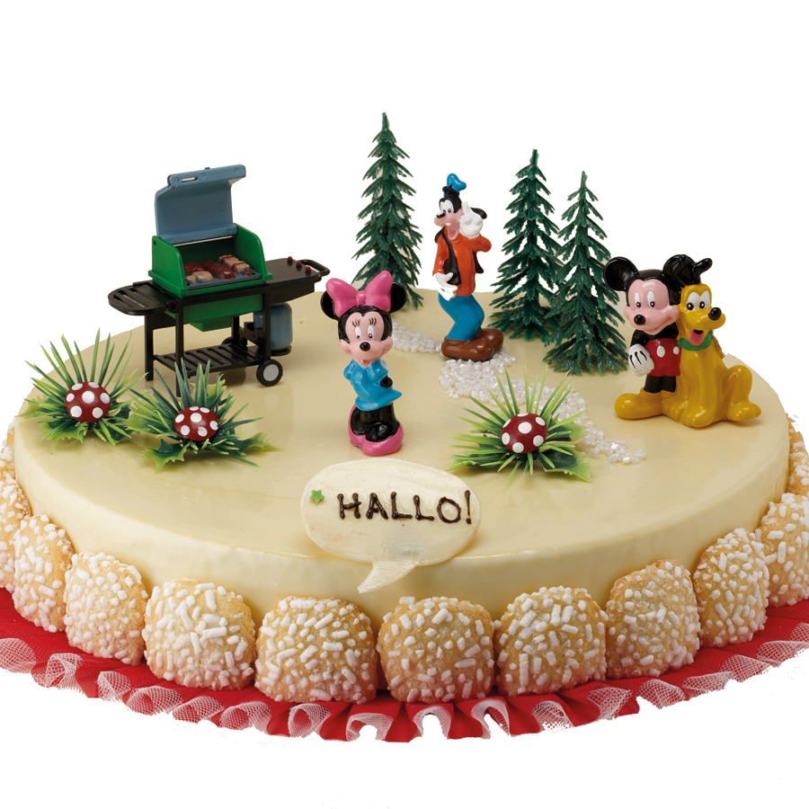 decoration gateau mickey