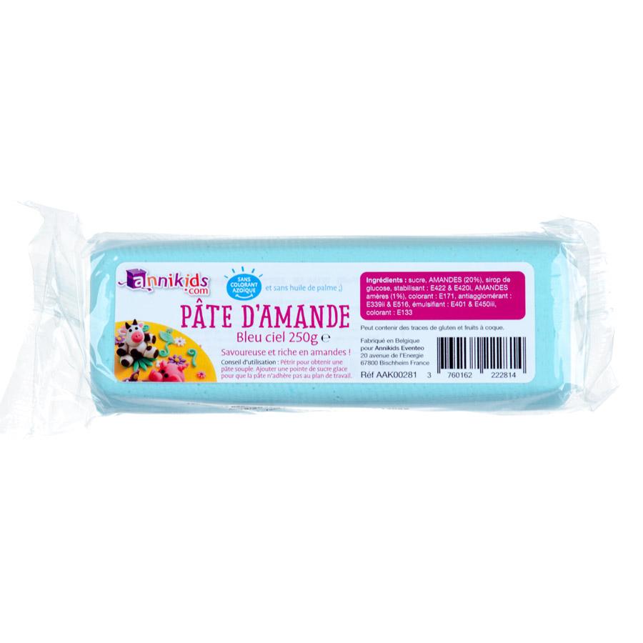 pte damande 250g bleu ciel pour lanniversaire de votre enfant annikids - Pate D Amande Colore
