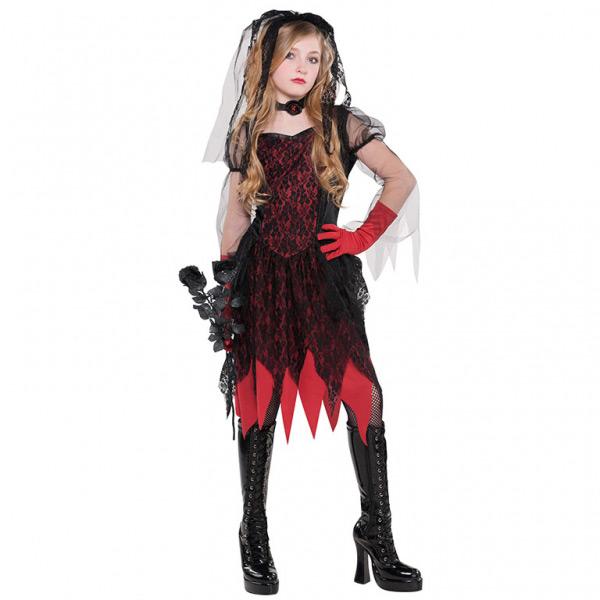 amscan  Déguisement de Fiancée Zombie Gothique Taille 8-10 ans Un joli... par LeGuide.com Publicité