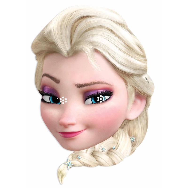 Masque Reine des Neiges Elsa Un joli masque d'Elsa en carton, à... par LeGuide.com Publicité