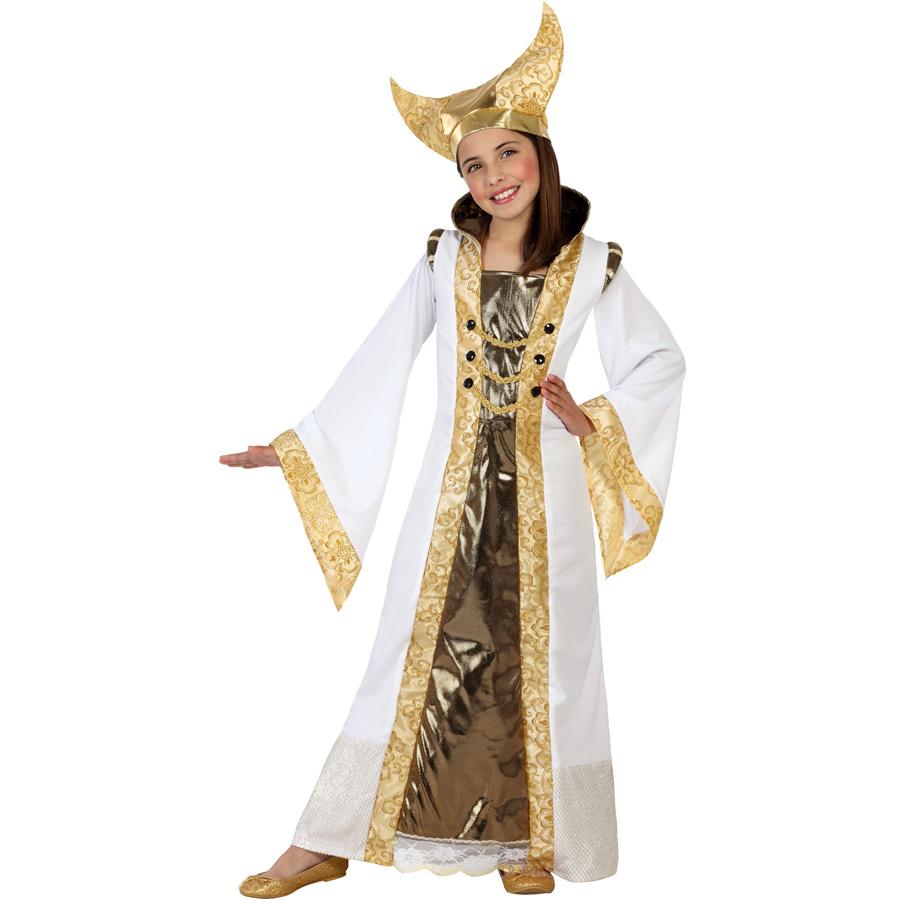 atosa  Déguisement de Reine Médiévale Or 3-4 ans Un ravissant déguisement... par LeGuide.com Publicité