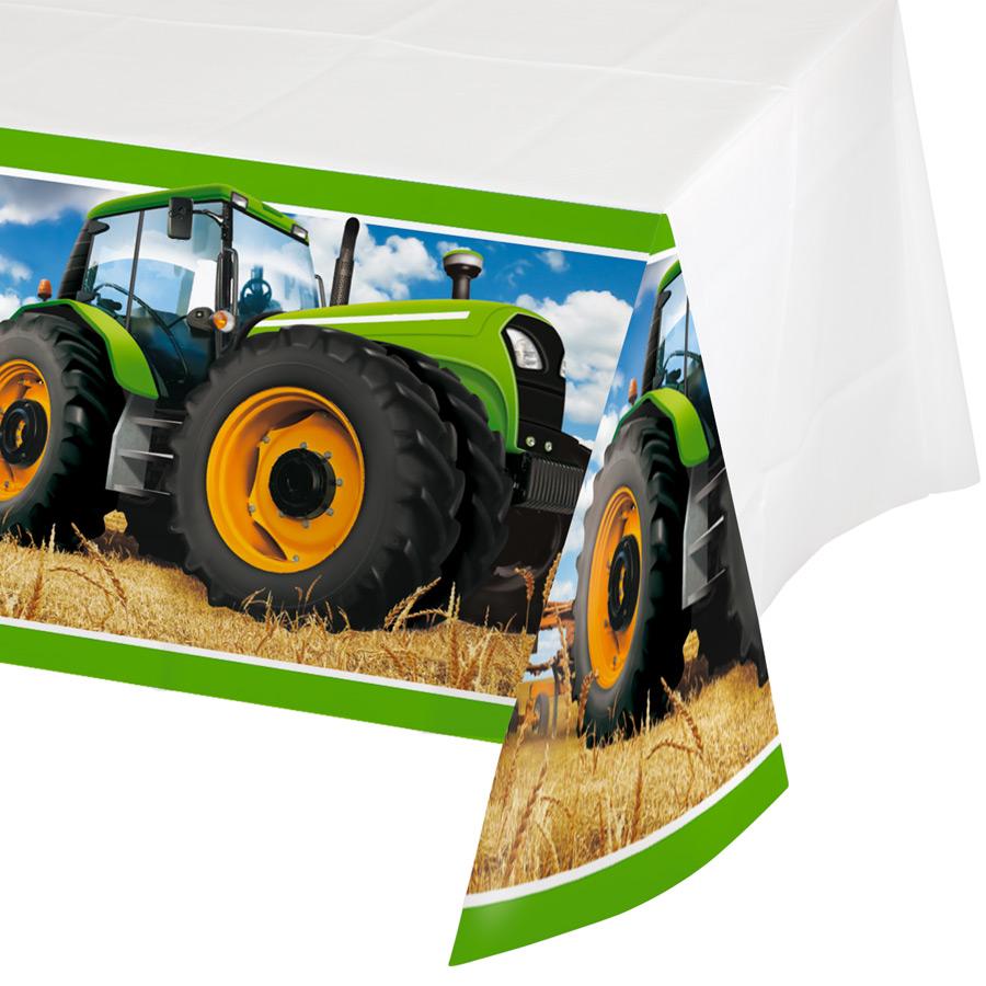 Populaire Thème d'anniversaire big tracteur pour votre enfant - Annikids LC08