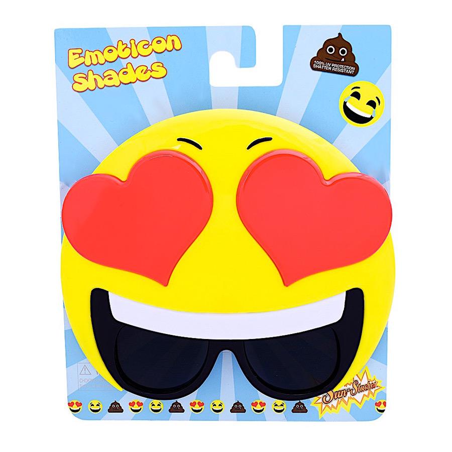 Lunettes de Déguisement Emoji Coeurs Une paire de lunettes de déguisement... par LeGuide.com Publicité