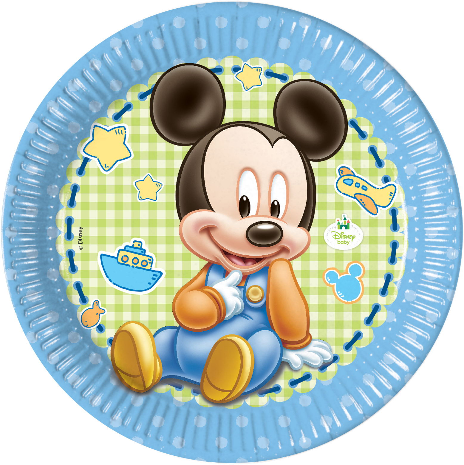kit anniversaire bebe mickey