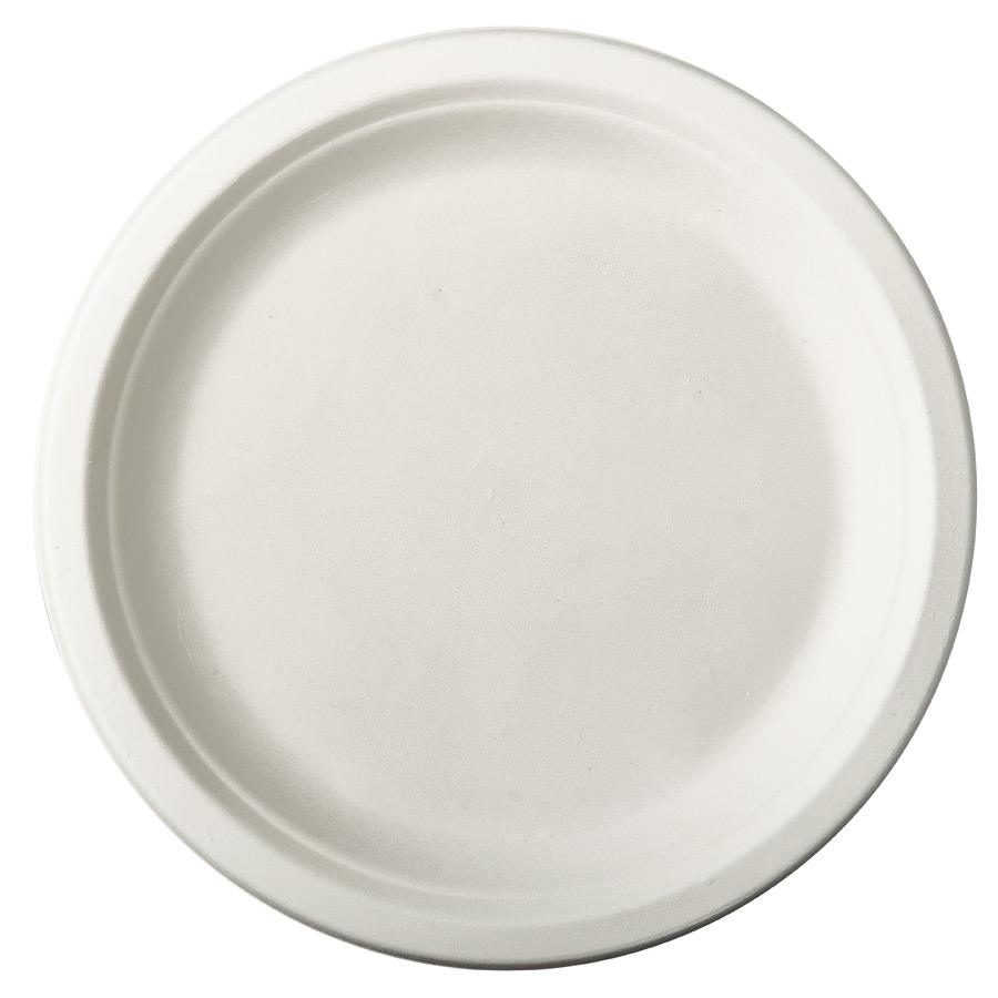 12 Assiettes en Canne à Sucre - Blanc 12 assiettes blanches en canne... par LeGuide.com Publicité