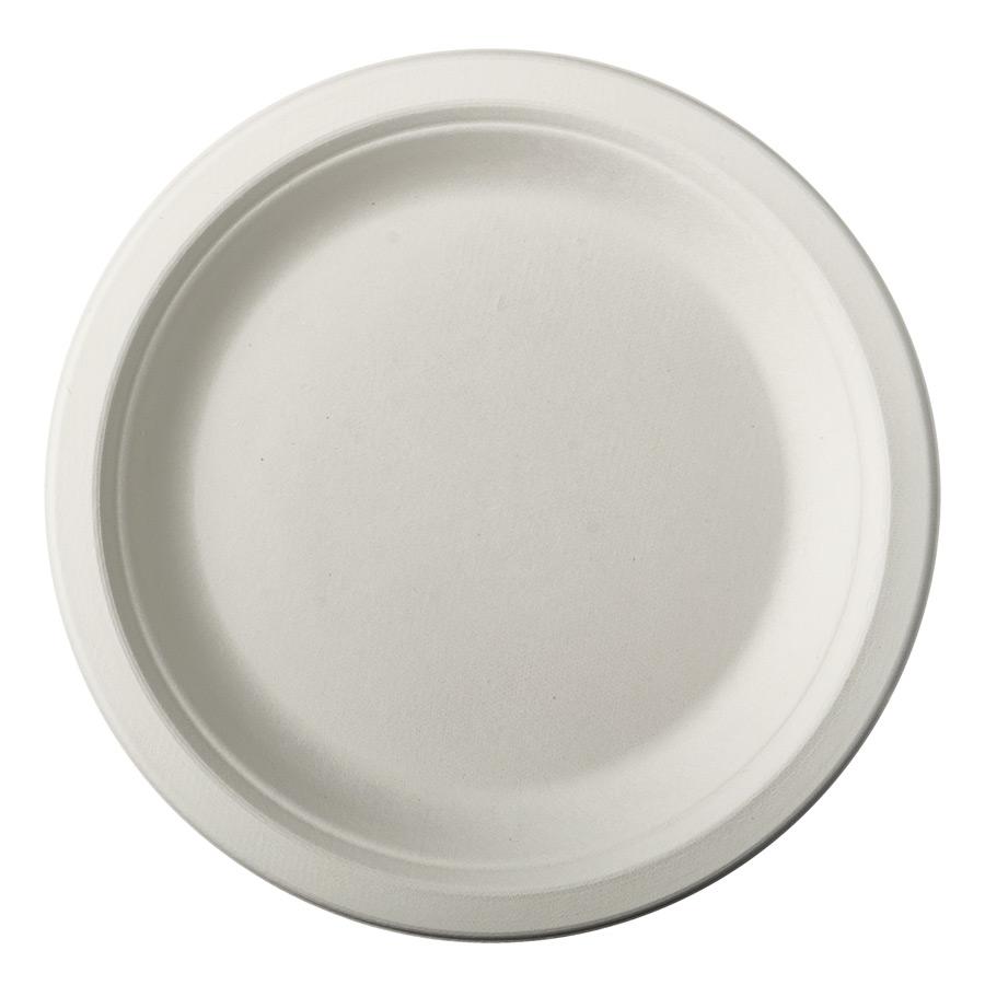 12 Petites Assiettes en Canne à Sucre - Blanc 12 petites assiettes blanches... par LeGuide.com Publicité