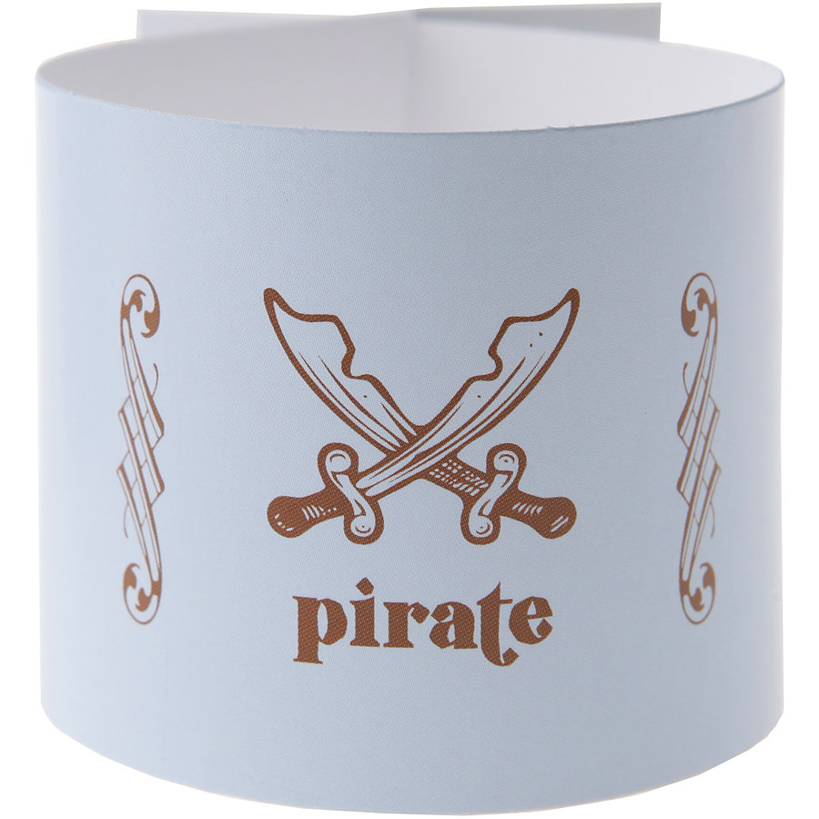 6 Ronds de serviettes Pirate Ciel Lot de 6 ronds de serviettes Pirate... par LeGuide.com Publicité