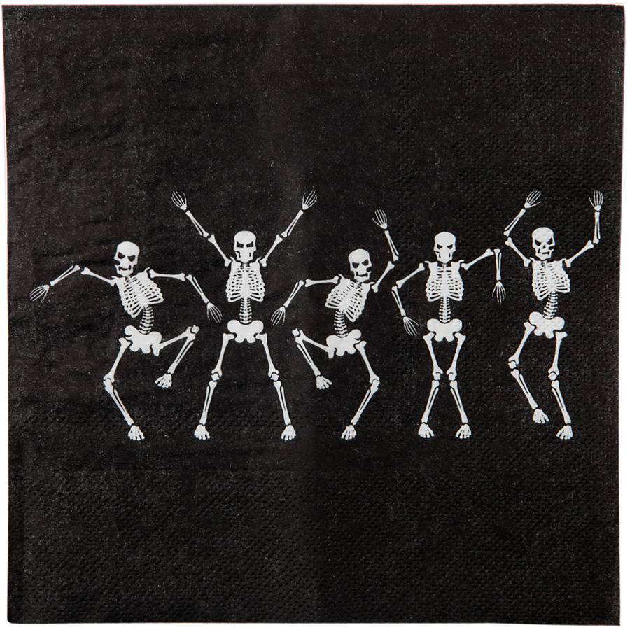 20 Serviettes Danse des Squelettes Lot de 20 serviettes Danse des Squelettes... par LeGuide.com Publicité