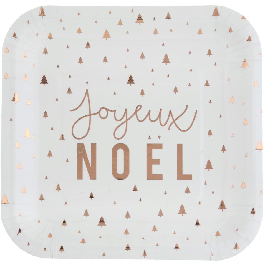 10 Assiettes Joyeux Noël Confettis Lot de 10 assiettes Joyeux Noël Confetti... par LeGuide.com Publicité