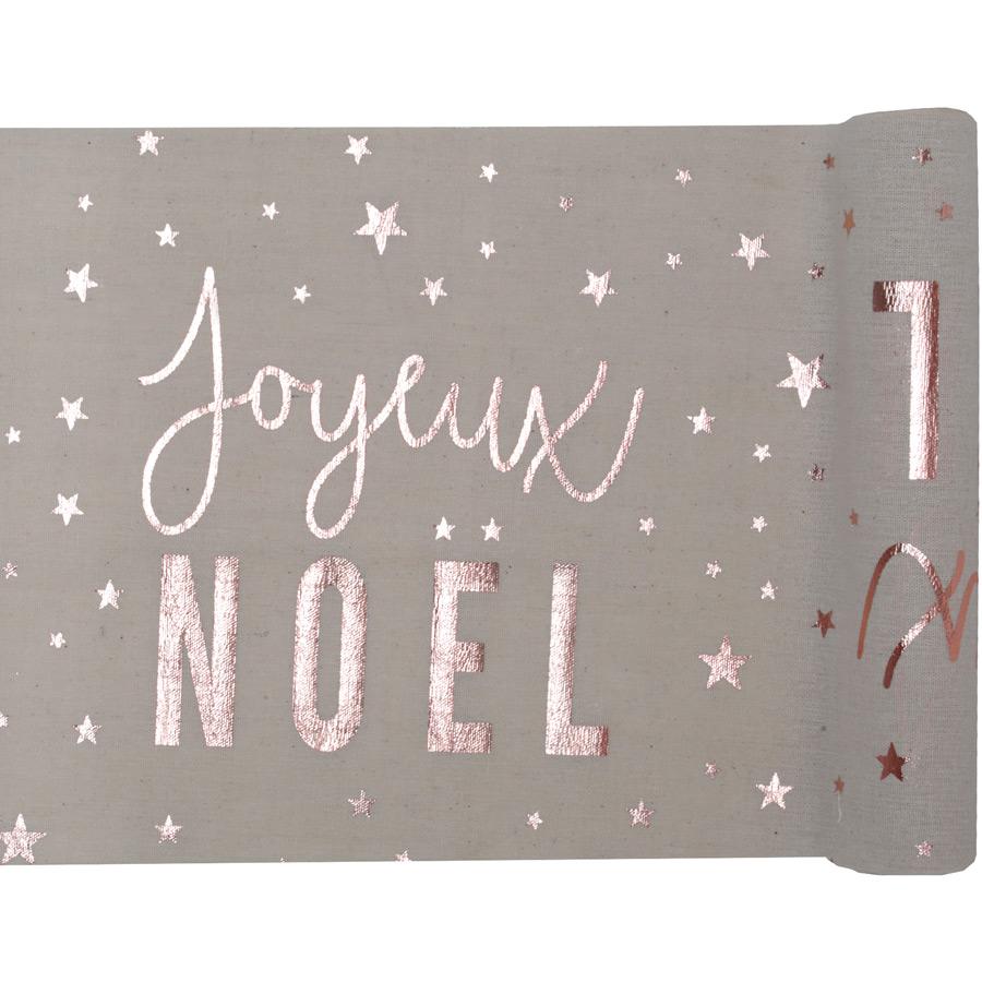 Chemin de Table Joyeux Noël Confetti (5 m) - Coton Un ravissant chemin... par LeGuide.com Publicité