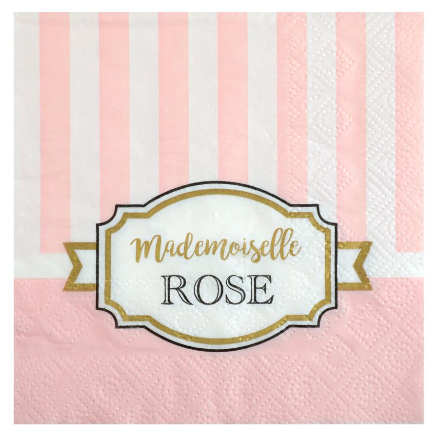 20 Petites Serviettes Mademoiselle Baby Rose Lot de 20 petites serviettes... par LeGuide.com Publicité