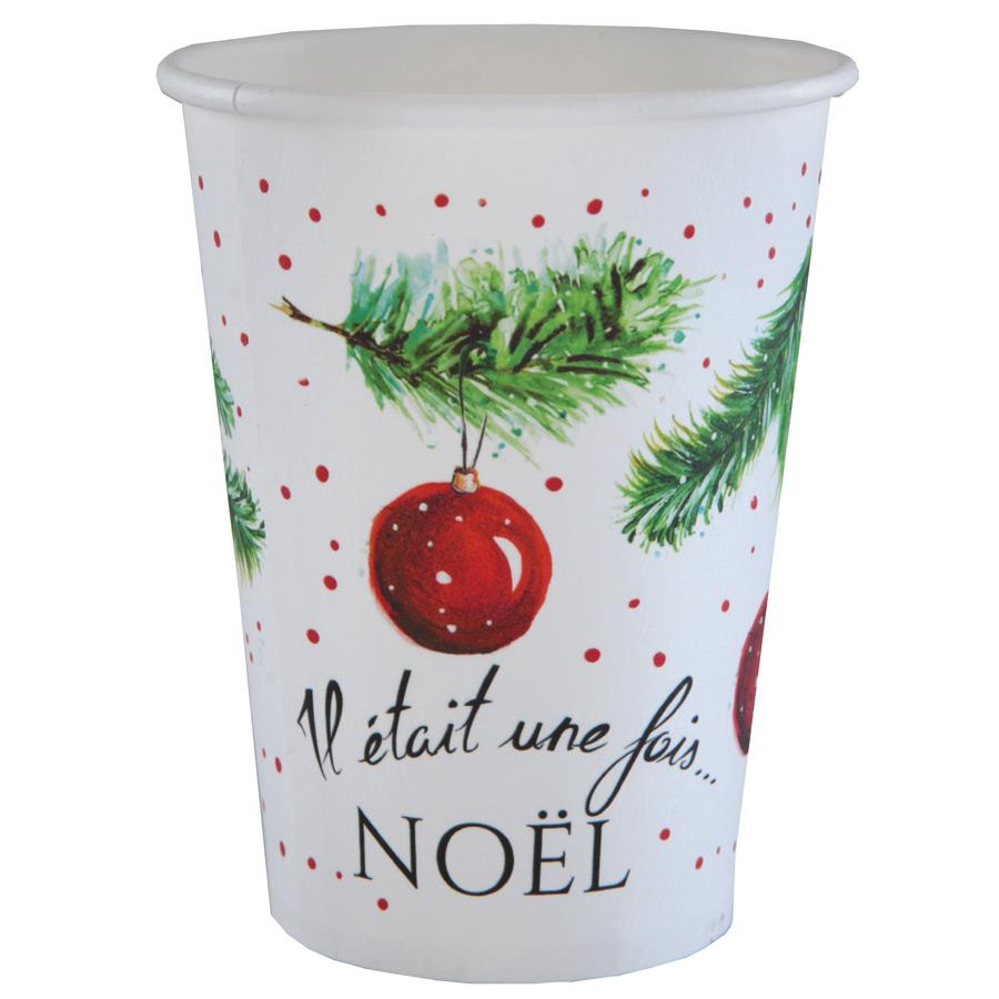 10 Gobelets Il était une fois Noël Lot de 10 gobelets Il était une fois... par LeGuide.com Publicité