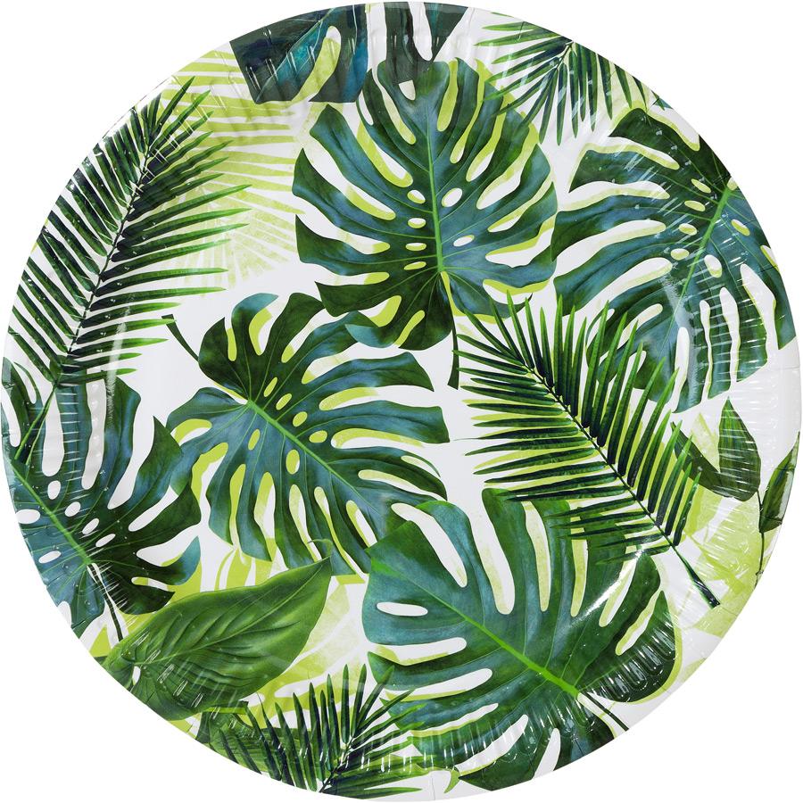 talking tables  8 Assiettes Tropique Jungle Lot de 8 assiettes Tropique... par LeGuide.com Publicité