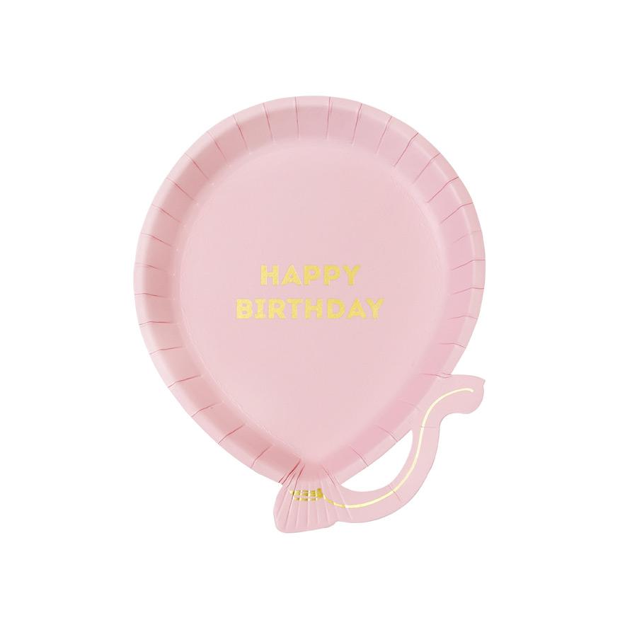 talking tables  12 Assiettes Ballon Pink Birthday Lot de 12 assiettes ballon... par LeGuide.com Publicité