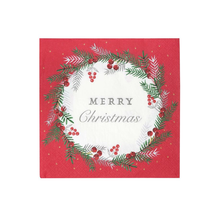 talking tables  20 Serviettes Merry Christmas Lot de 20 serviettes Merry... par LeGuide.com Publicité