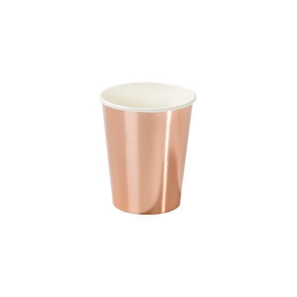talking tables  8 Gobelets Rose Gold 8 gobelets rose gold pour un anniversaire... par LeGuide.com Publicité