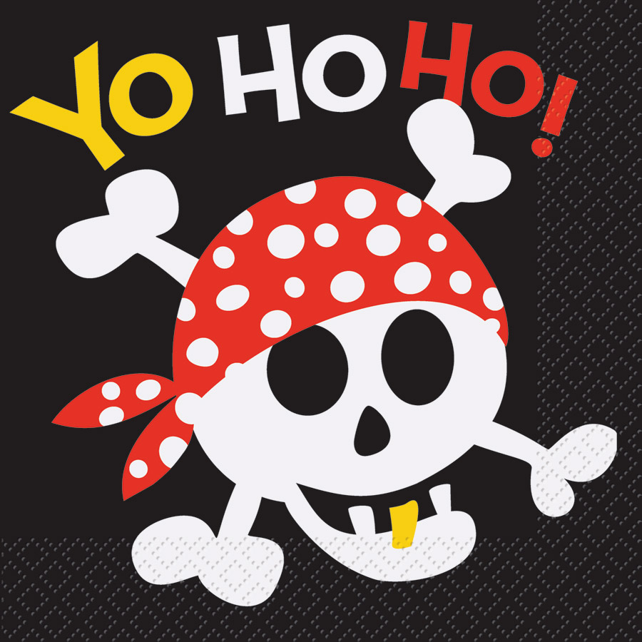 16 Serviettes Pirate Fun 16 Serviettes Pirate Fun à compléter avec la... par LeGuide.com Publicité