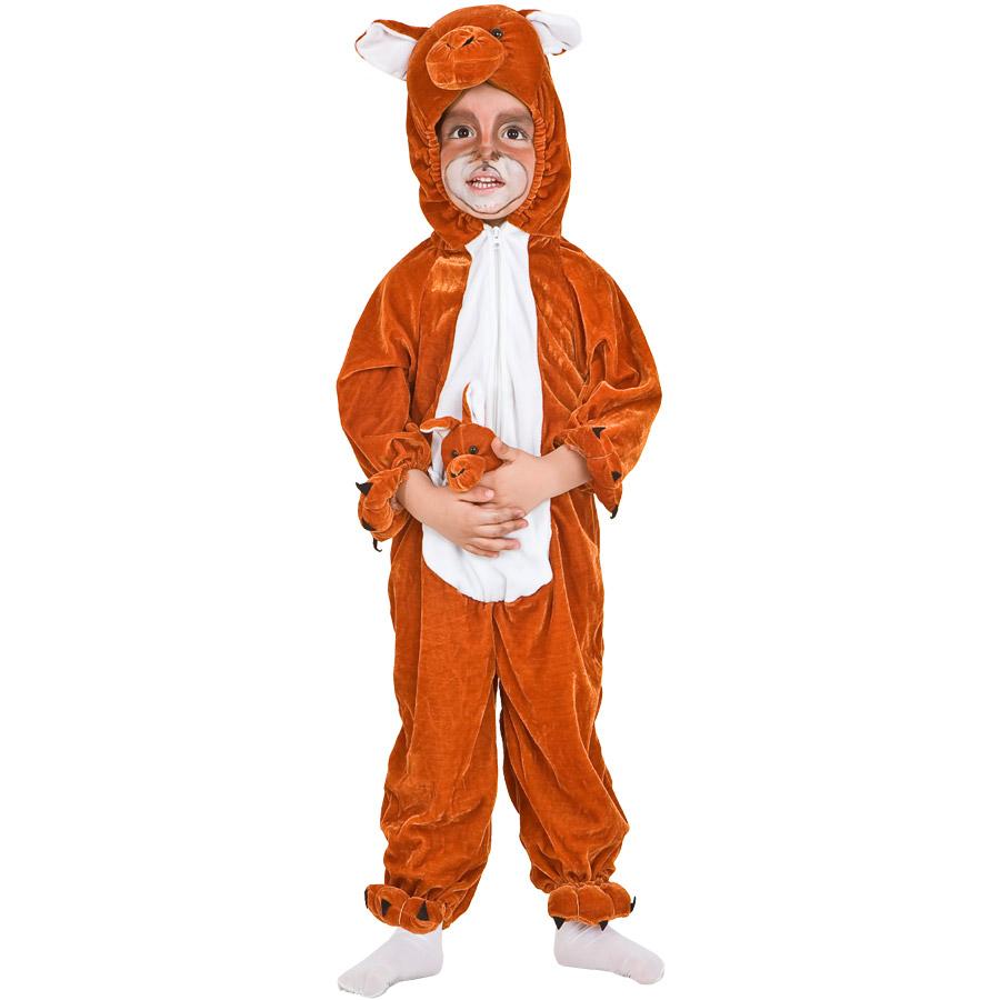 Déguisement kangourou velours pour lanniversaire de votre enfant , Annikids