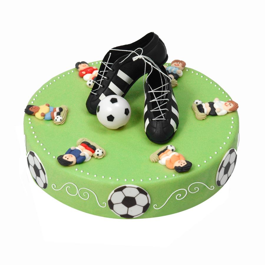 deco gateau anniversaire foot