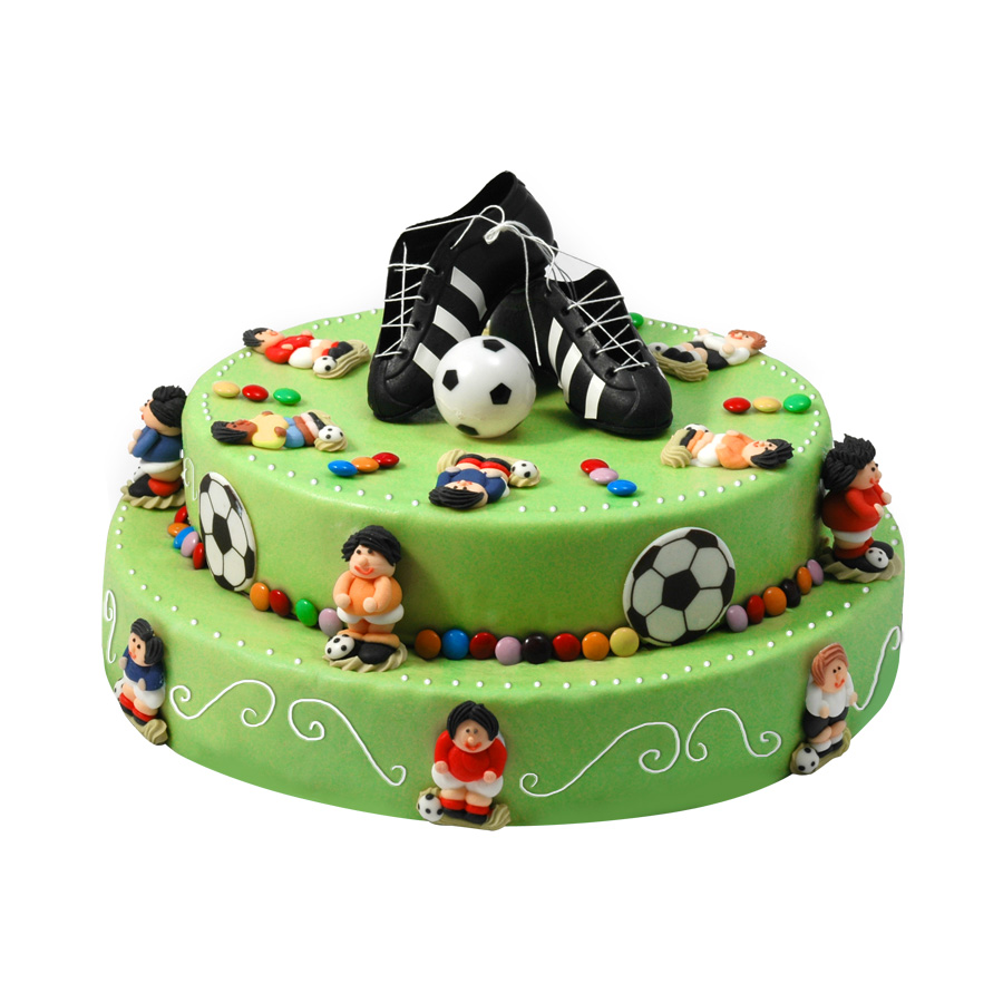 decoration gateau anniversaire football. Black Bedroom Furniture Sets. Home Design Ideas