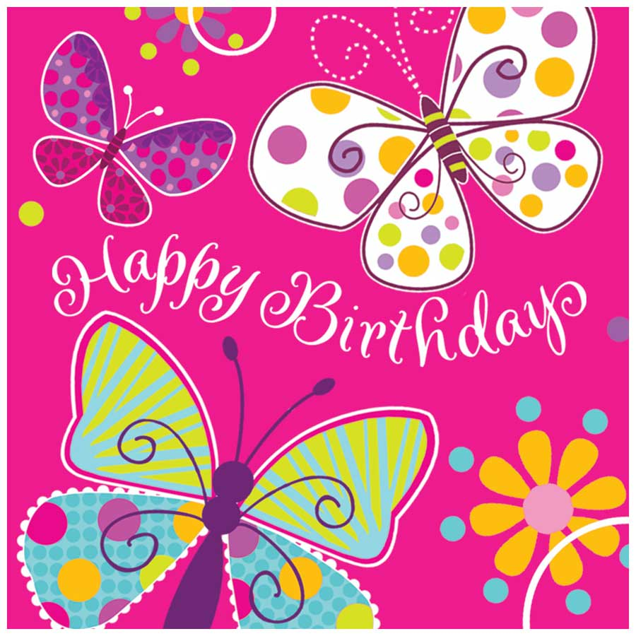 Célèbre Thème d'anniversaire papillon fun pour votre enfant - Annikids LG49