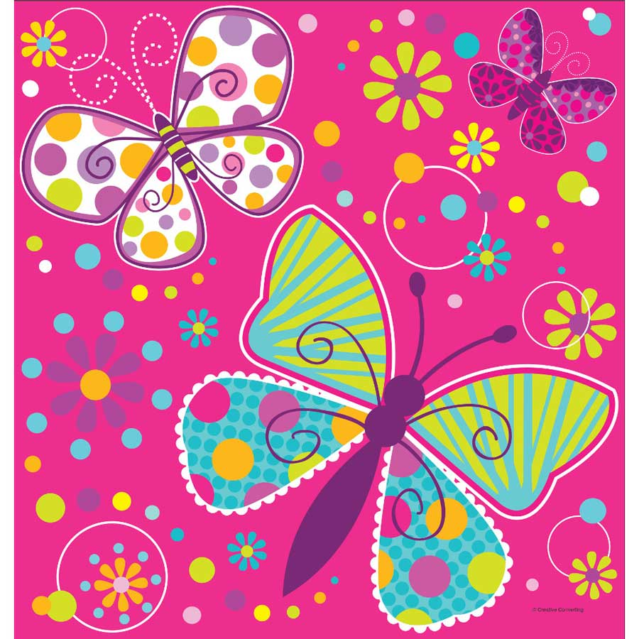 Très Nappe papillon fun pour l'anniversaire de votre enfant - Annikids ZD56