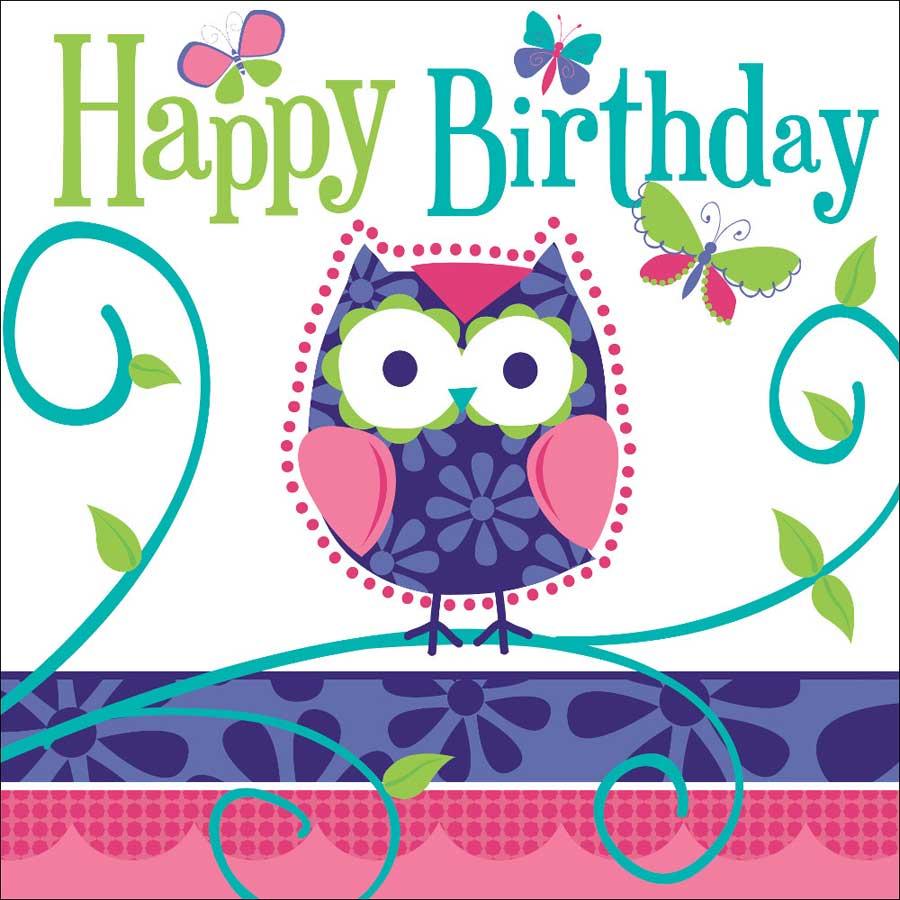 decoration anniversaire hibou