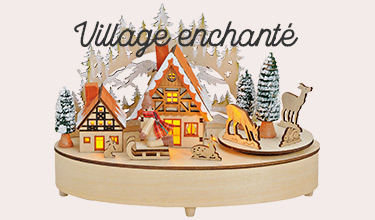 Village enchanté de Noël