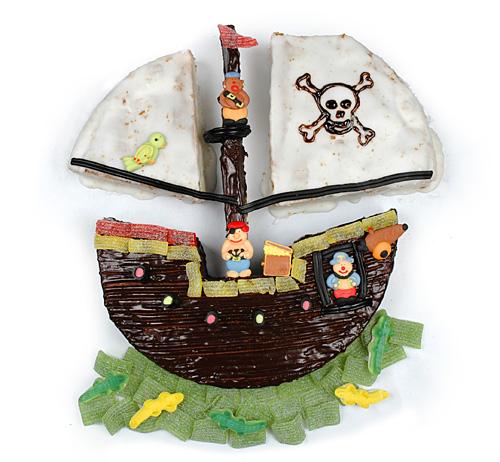 Gâteau Le Bâteau Pirate