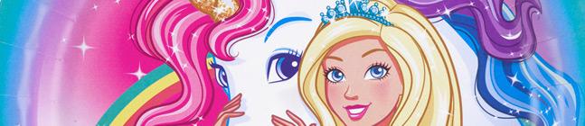 Thème d'anniversaire barbie licorne pour votre enfant