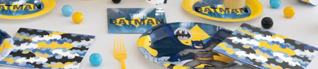 Thème d'anniversaire Batman pour votre enfant