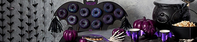 Thème Purple Halloween - Décorations Halloween