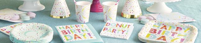 Thème d'anniversaire Donut Birthday pour votre enfant