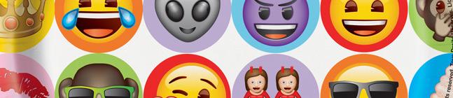 Thème d'anniversaire Emoji Celebration pour votre enfant