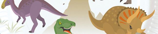 Thème d'anniversaire Happy Dino pour votre enfant