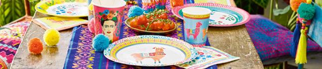 Thème d'anniversaire Lama Latina pour votre enfant