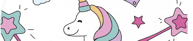 Thème d'anniversaire Licorne Magic Party pour votre enfant