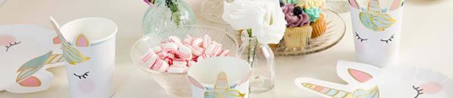 Thème d'anniversaire Licorne Pastel pour votre enfant