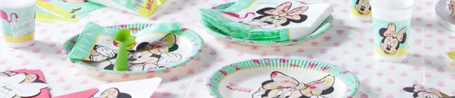 Thème d'anniversaire Minnie Tropical pour votre enfant