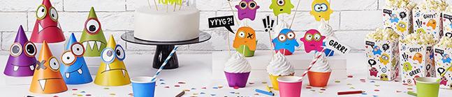 Thème d'anniversaire monster colors pour votre enfant