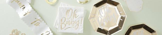 Thème d'anniversaire Oh Baby! pour votre enfant