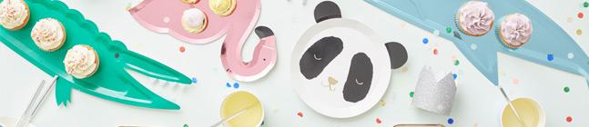 Thème d'anniversaire Petit Panda pour votre enfant