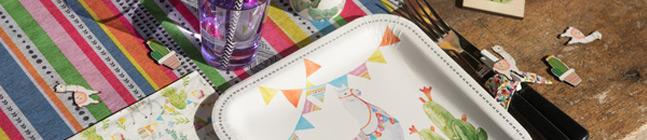 Thème d'anniversaire lama fiesta pour votre enfant