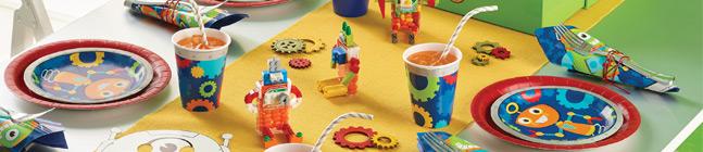 Thème d'anniversaire Robot Party pour votre enfant