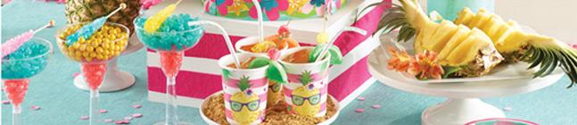 Thème d'anniversaire Ananas Party pour votre enfant