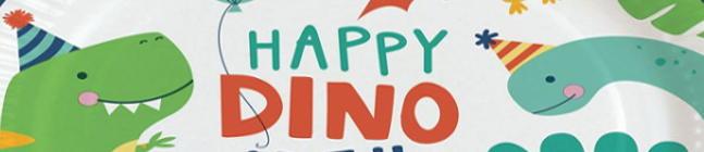 Thème d'anniversaire Happy Dino Party pour votre enfant