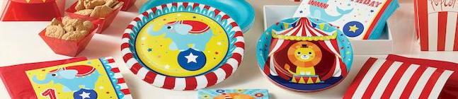 Thème d'anniversaire Circus Party pour votre enfant
