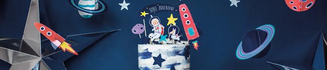 Thème d'anniversaire Space Party pour votre enfant