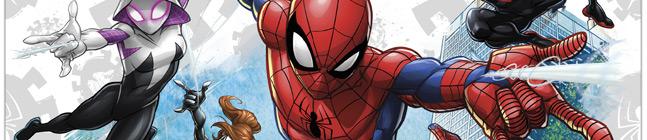 Thème d'anniversaire Spiderman Team pour votre enfant